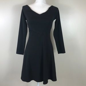 ✨NWT✨Express V-Neck Fit and Flare Dress